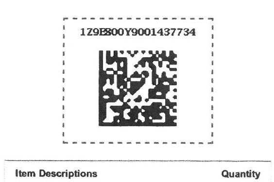 Amazon Return QR Code