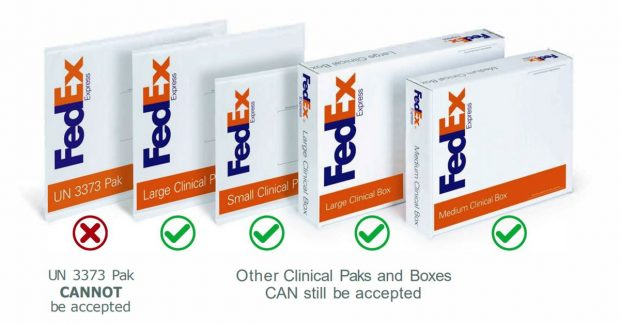 Fed Ex Clinical Packs